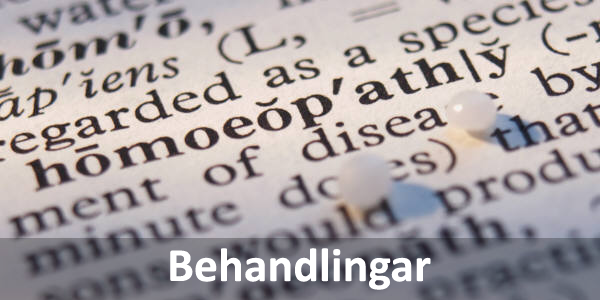Behandlingar homeopati